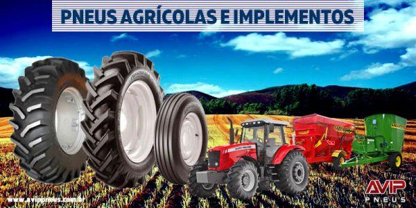 Pneus para Máquinas Agrícolas e Implementos