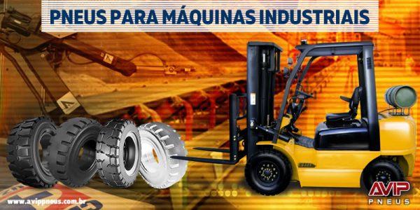 Pneus para Máquinas Industriais