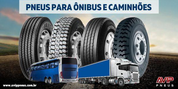 Pneus para Ônibus e Caminhões